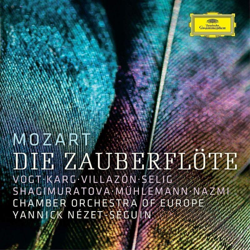 『魔笛』全曲 ヤニク=ネゼ・セガン&ヨーロッパ室内管弦楽団、クラウス・フロリアン・フォークト、ロランド・ヴィラゾン、他(2018 ステレオ)(2CD)