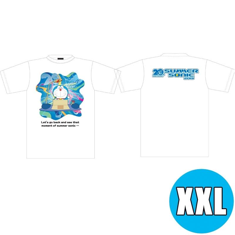 サマソニ×ドラえもんコラボTシャツ WHITE(XXL) ※事後販売分
