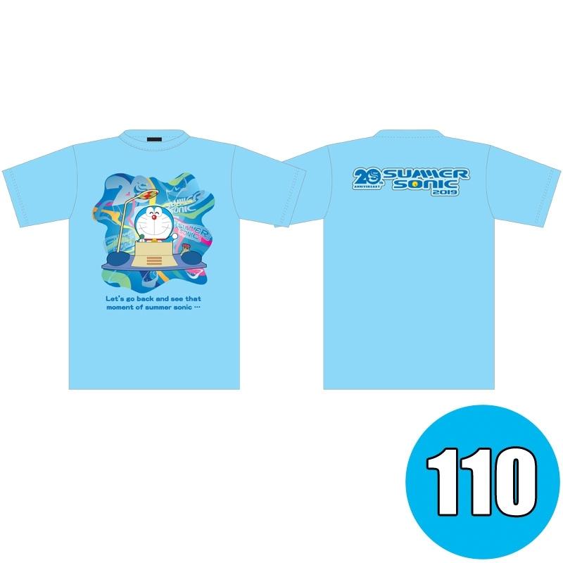 サマソニ×ドラえもんコラボTシャツ KIDS LIGHT BLUE ※事後販売分