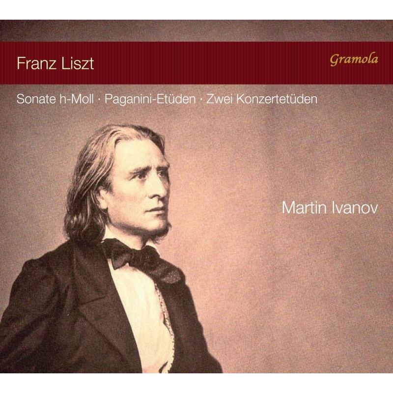 ピアノ・ソナタ、パガニーニ大練習曲、森のざわめき、小人の踊り マルティン・イヴァノフ