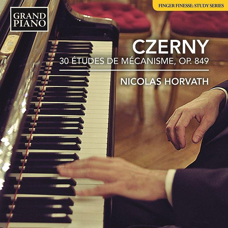 30の技巧的練習曲(30番練習曲) ニコラス・ホルヴァート