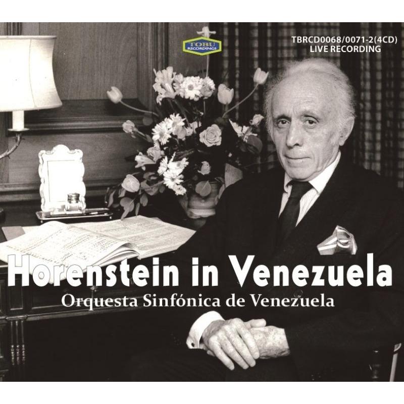 Jascha Horenstein / Venezuela Symphony Orchestra : Horenstein in Venezuela 1954-1957 (4CD)