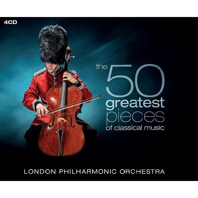 50グレイテスト・クラシカル・ミュージック デイヴィッド・パリー&ロンドン・フィルハーモニー管弦楽団(4CD)