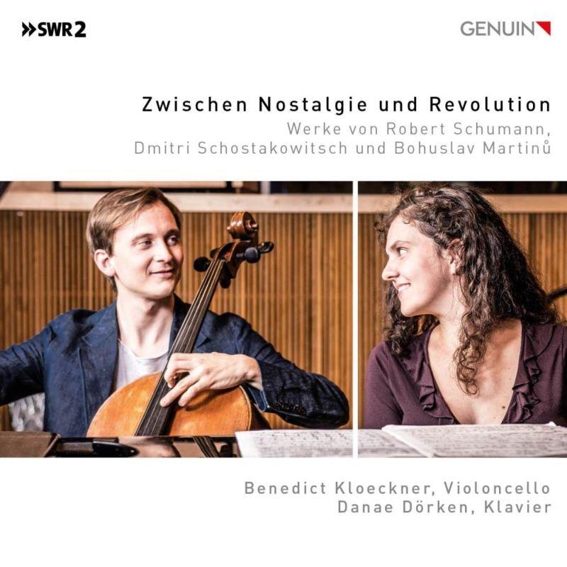 Zwischen Nostalgie Und Revolution-schumann, Shostakovich, Martinu: Kloeckner(Vc)Dorken(P)