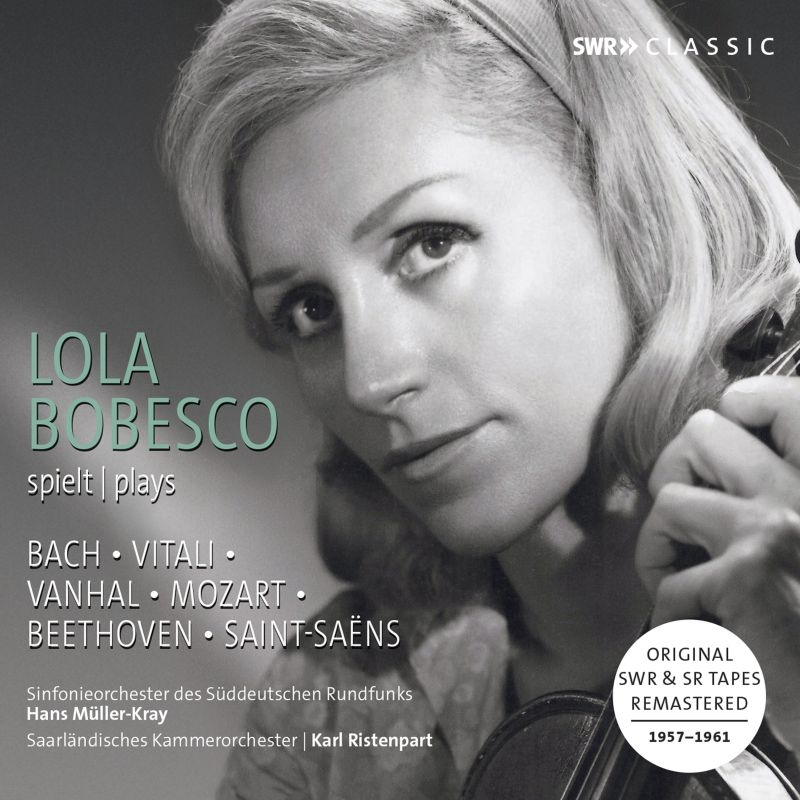 ローラ・ボベスコ/1957〜1961年録音集(3CD)