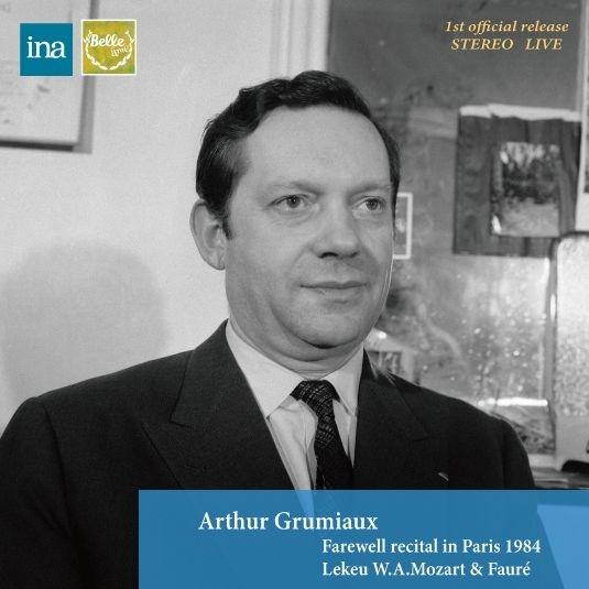 アルテュール・グリュミオー、パリにおける最後の公演 1984〜ルクー、モーツァルト、フォーレ