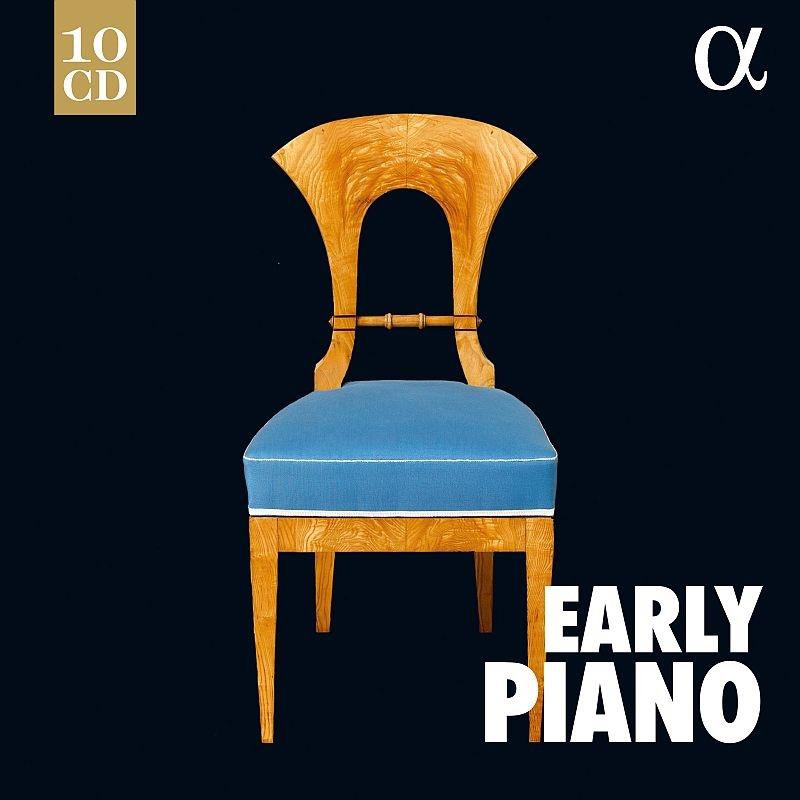 Early Piano: De Pasquale Bobby Mitchell Lubimov Pashchenko Immerseel Schoonderwoerd Le Sage Etc (10CD)