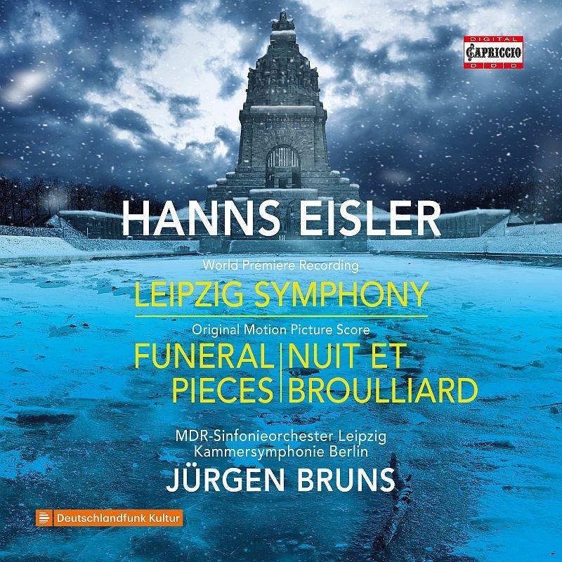 ライプツィヒ交響曲、葬送曲、夜と霧 ユルゲン・ブルーンス&MDR交響楽団、ベルリン室内交響楽団