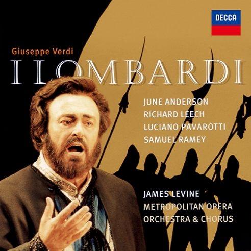 『第1回十字軍のロンバルディア人』全曲 レヴァイン&メトロポリタン歌劇場、ルチアーノ・パヴァロッティ、ジューン・アンダーソン、他(1996 ステレオ)(2CD)