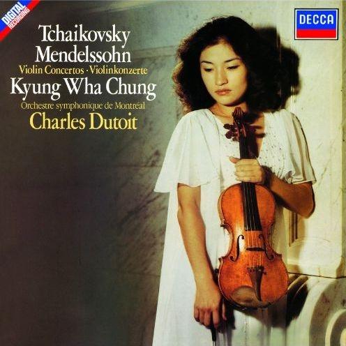 チャイコフスキー:ヴァイオリン協奏曲、メンデルスゾーン:ヴァイオリン協奏曲 チョン・キョンファ、シャルル・デュトワ&モントリオール交響楽団