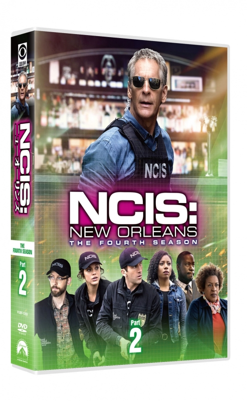 NCIS:ニューオーリンズ シーズン4 DVD-BOX Part2【6枚組】