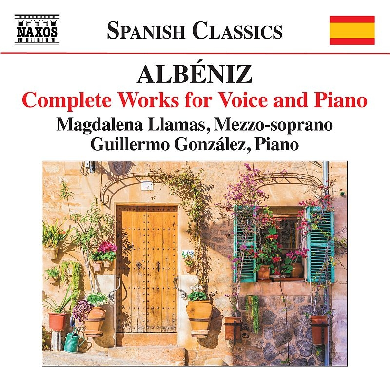 声とピアノのための作品全集 マグダレーナ・リャマス、グリエルモ・ゴンザレス