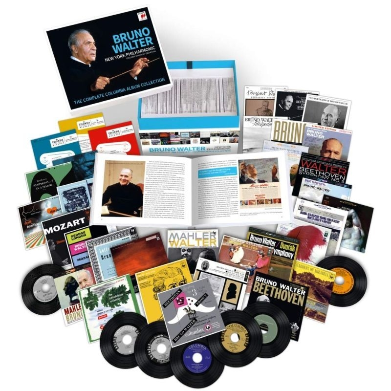 Bruno Walter : The Complete Columbia Album Collection (77CD)