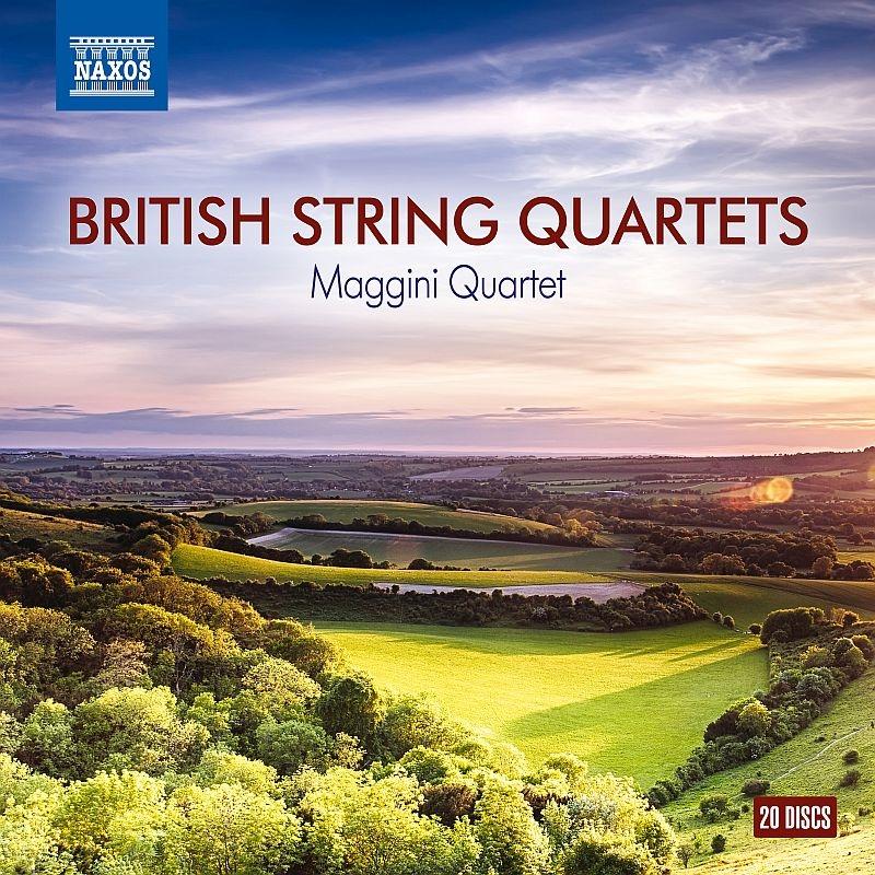 イギリスの弦楽四重奏曲集 マッジーニ四重奏団(20CD) | HMV&BOOKS ...