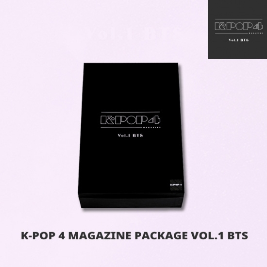 K-POP 4 SEASONS MAGAZINE vol.1 BTS(+CD)