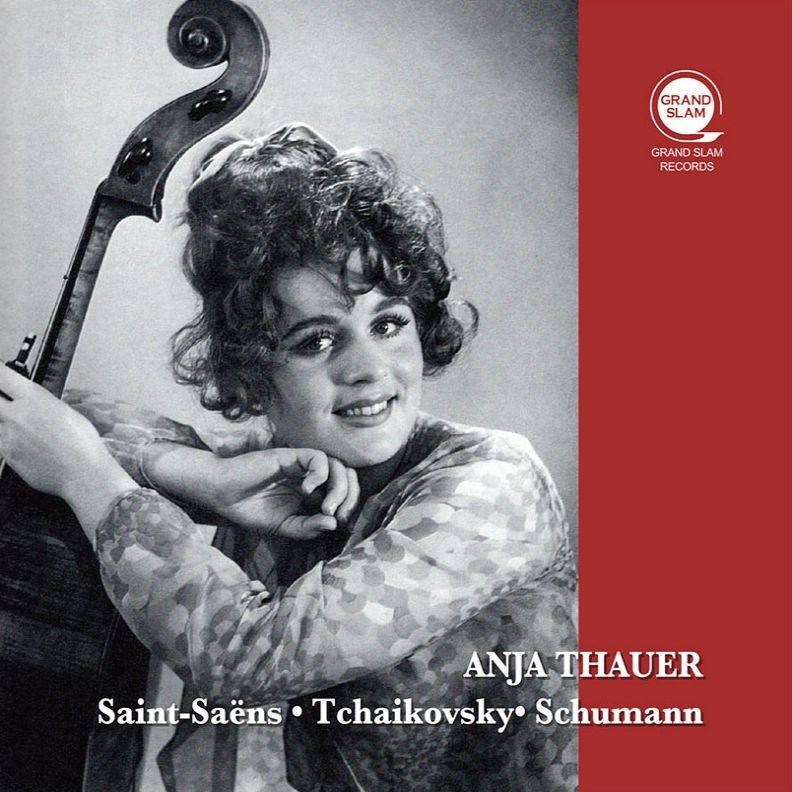 アニア・タウアー 放送録音集〜サン=サーンス:チェロ協奏曲第1番、チャイコフフスキー:ロココの主題による変奏曲、シューマン:チェロ協奏曲、他