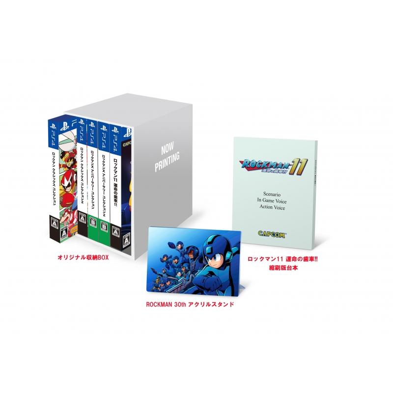 【PS4】ロックマン&ロックマンX 5in1 スペシャルBOX