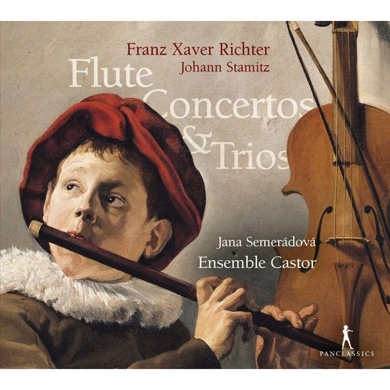フルート協奏曲、チェンバロ三重奏曲集 ヤナ・セメラードヴァー、アンサンブル・カストール