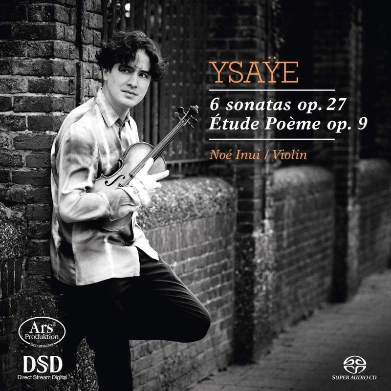無伴奏ヴァイオリン・ソナタ全曲、エチュード=ポエム ノエ・乾、マリオ・ヘリング(日本語解説付)