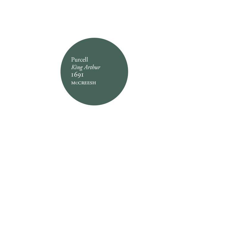 『アーサー王』全曲 ポール・マクリーシュ&ガブリエリ・コンソート&プレーヤーズ、ジェレミー・バッド、キャロリン・サンプソン、他(2019 ステレオ)(2CD)
