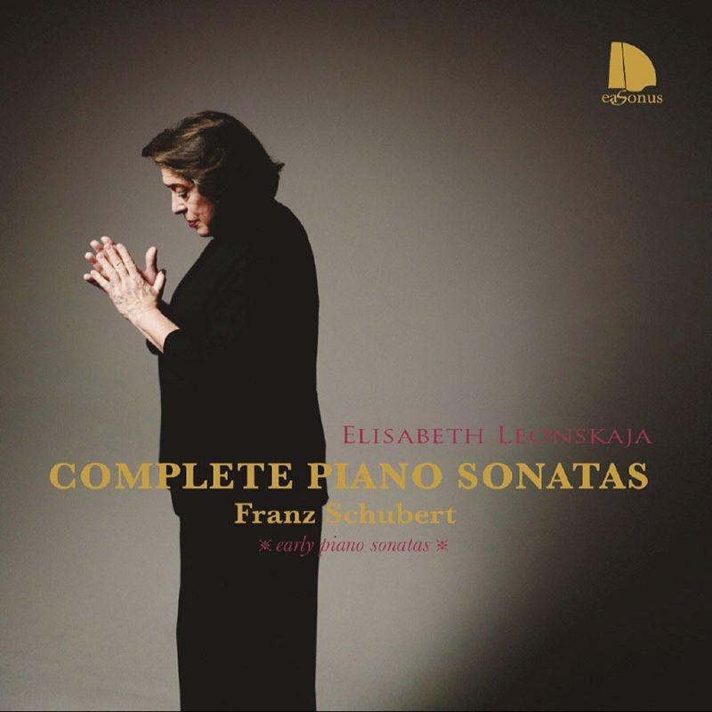 初期ピアノ・ソナタ集、さすらい人幻想曲 エリーザベト・レオンスカヤ(2017)(4CD)