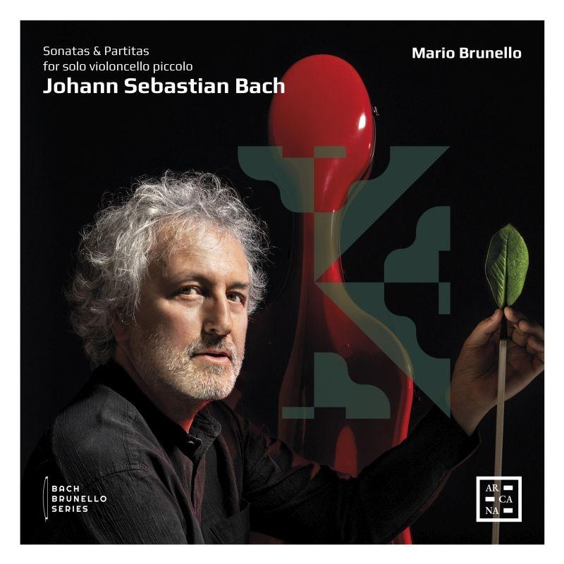 無伴奏ヴァイオリンのためのソナタとパルティータ全曲 マリオ・ブルネロ(4弦チェロ・ピッコロ)(2CD)