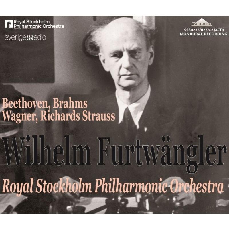ヴィルヘルム・フルトヴェングラー&ストックホルム・フィル、スウェーデン放送全録音集(4CD)