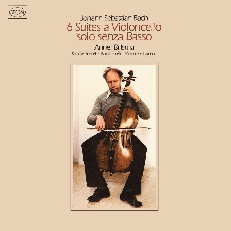 無伴奏チェロ組曲 全曲 アンナー・ビルスマ(1979)(2SACD)