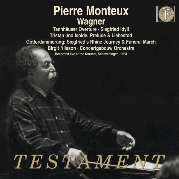 『トリスタンとイゾルデ』より、『神々の黄昏』より、他 ピエール・モントゥー&コンセルトヘボウ管弦楽団、ビルギット・ニルソン(2CD)(日本語解説付)