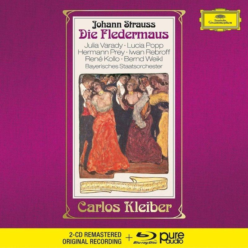 『こうもり』全曲 カルロス・クライバー&バイエルン国立管弦楽団、ヘルマン・プライ、ルチア・ポップ、他(1975 ステレオ)(2CD+ブルーレイ・オーディオ)