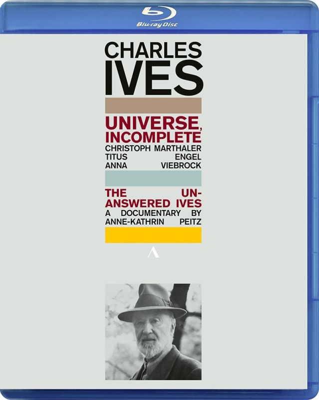 Charles Ives: Universe, Incomplete-the Unanswered Ives | HMV&BOOKS ...