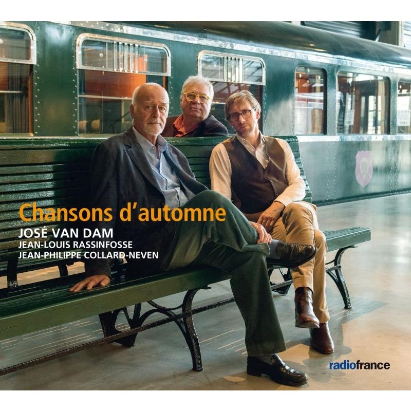 秋の歌〜シャンソンを歌う ジョゼ・ヴァン・ダム、ジャン=ルイ・ラシンフォッセ(コントラバス)、ジャン=フィリップ・コラール=ネーヴェン(ピアノ)