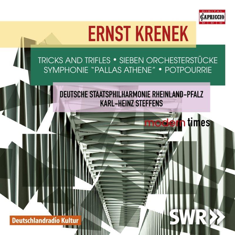 交響曲『パラス・アテネ』、ポプリ、7つの小品、他 カール=ハインツ・シュテフェンス&ラインラント=プファルツ州立フィル