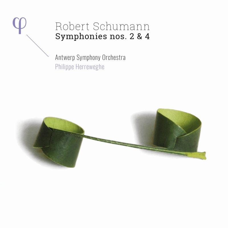 交響曲第2番、第4番 フィリップ・ヘレヴェッヘ&アントワープ交響楽団(日本語解説付)