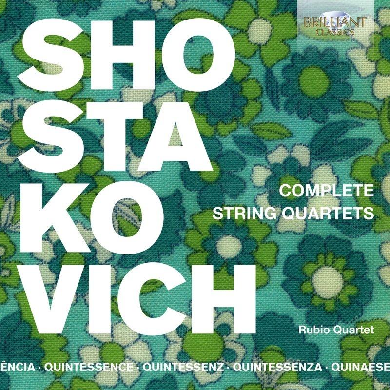 Complete String Quartet : Rubio Quartet (5CD)