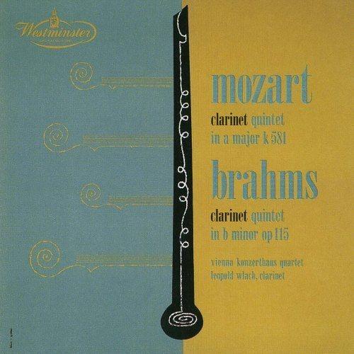 モーツァルト:クラリネット五重奏曲、ブラームス:クラリネット五重奏曲 レオポルト・ウラッハ、ウィーン・コンツェルトハウス四重奏団