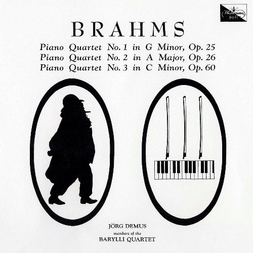 ピアノ四重奏曲第1番、第2番、第3番 イェルク・デムス、バリリ四重奏団員(2CD)