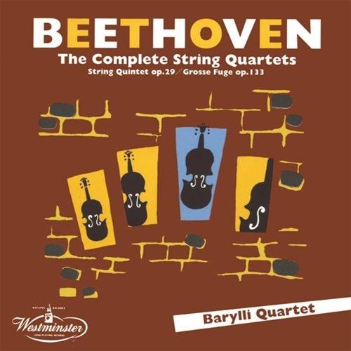 弦楽四重奏曲全集、弦楽五重奏曲 バリリ四重奏団、ヴィルヘルム・ヒューブナー(8CD)
