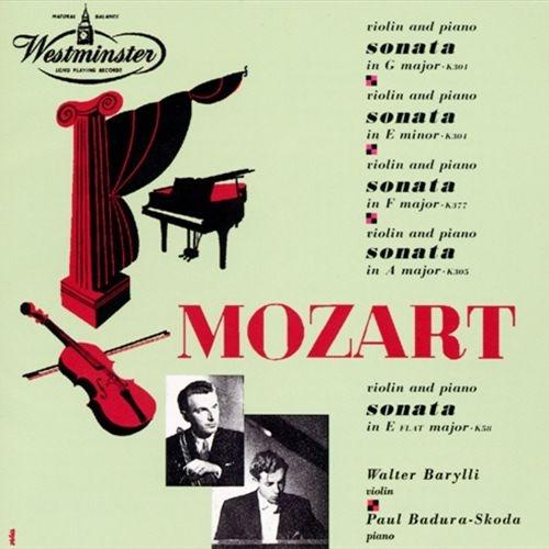 ヴァイオリン・ソナタ第20番、第25番、第28番、第29番、第33番 ヴァルター・バリリ、パウル・バドゥラ=スコダ