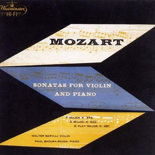 ヴァイオリン・ソナタ第32番、第37番、第41番 ヴァルター・バリリ、パウル・バドゥラ=スコダ