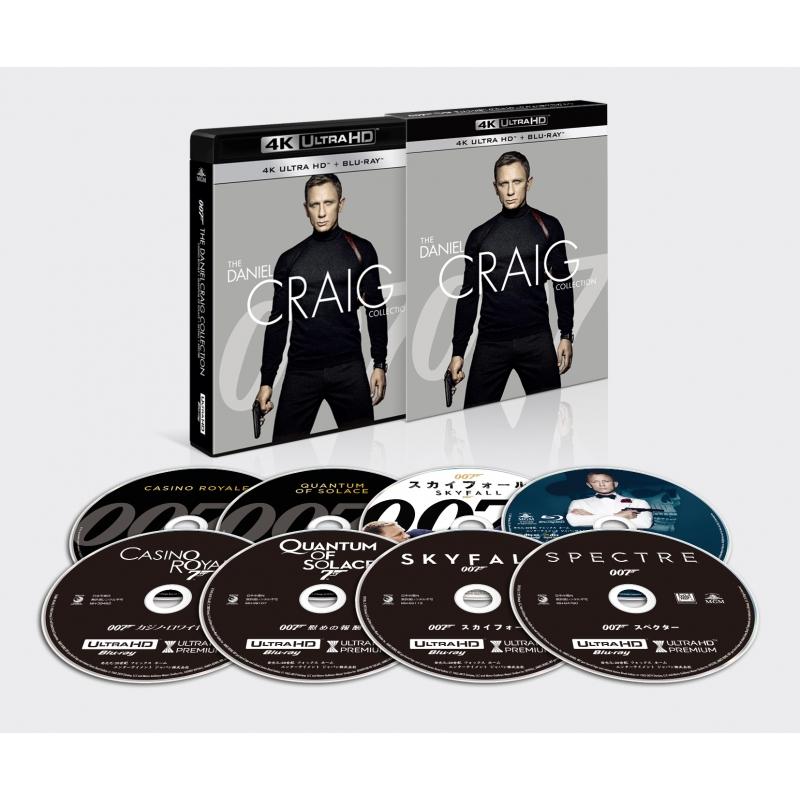 007/ダニエル・クレイグ 4K ULTRA HD BOX <8枚組>