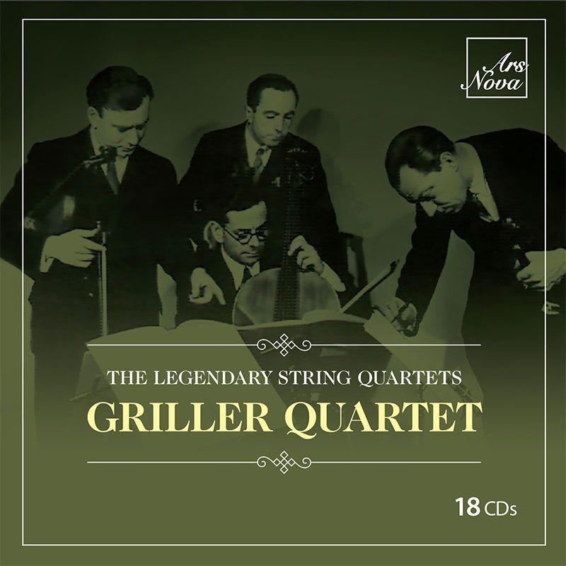 グリラー弦楽四重奏団の芸術(18CD)