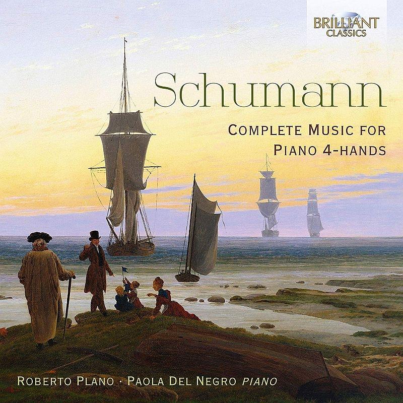 4手ピアノのための作品全集 ロベルト・プラーノ、パオラ・デル・ネグロ(2CD)