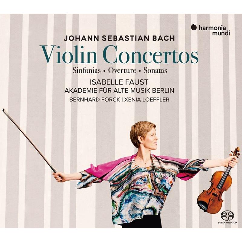 ヴァイオリン協奏曲集、管弦楽組曲第2番(ヴァイオリン協奏曲版)シンフォニア、他 イザベル・ファウスト、ベルリン古楽アカデミー(2SACDシングルレイヤー)