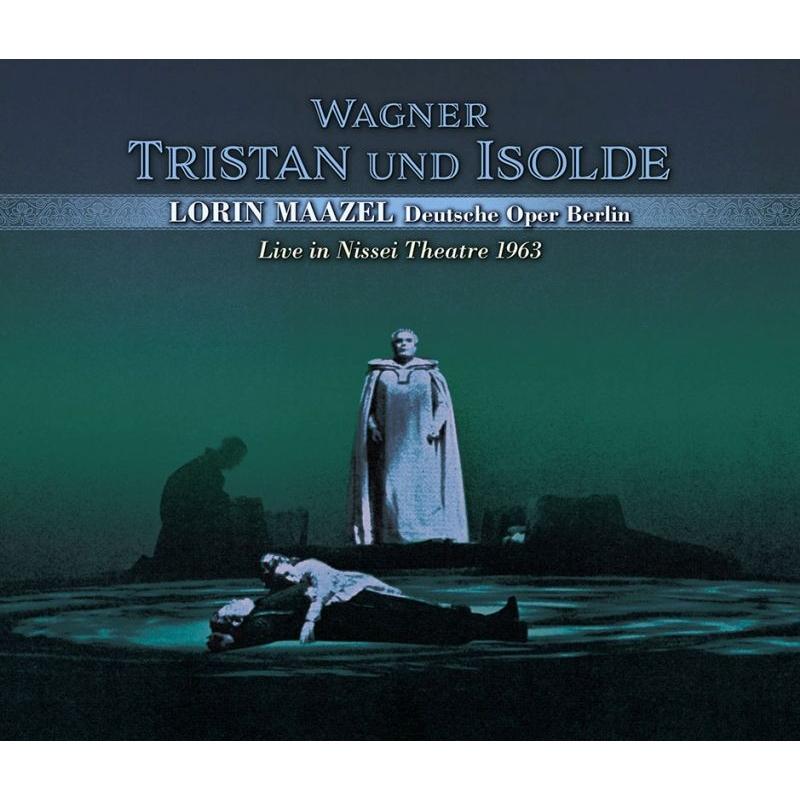 『トリスタンとイゾルデ』全曲 ロリン・マゼール&ベルリン・ドイツ・オペラ、バイラー、クフタ、グラインドル、他(1963 ステレオ 日生劇場ライヴ)(3CD)