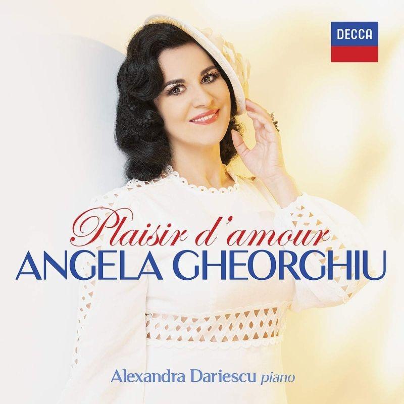 『愛の喜び〜歌曲リサイタル』 アンジェラ・ゲオルギュー、アレクサンドラ・ダリエスク
