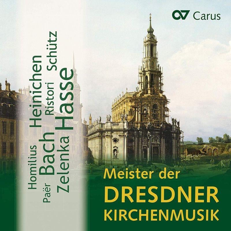 『ドレスデン教会音楽の巨匠たち〜シュッツ、ハイニヒェン、バッハ、ハッセ、他』 ハンス=クリストフ・ラーデマン&ドレスデン室内合唱団、他(10CD)