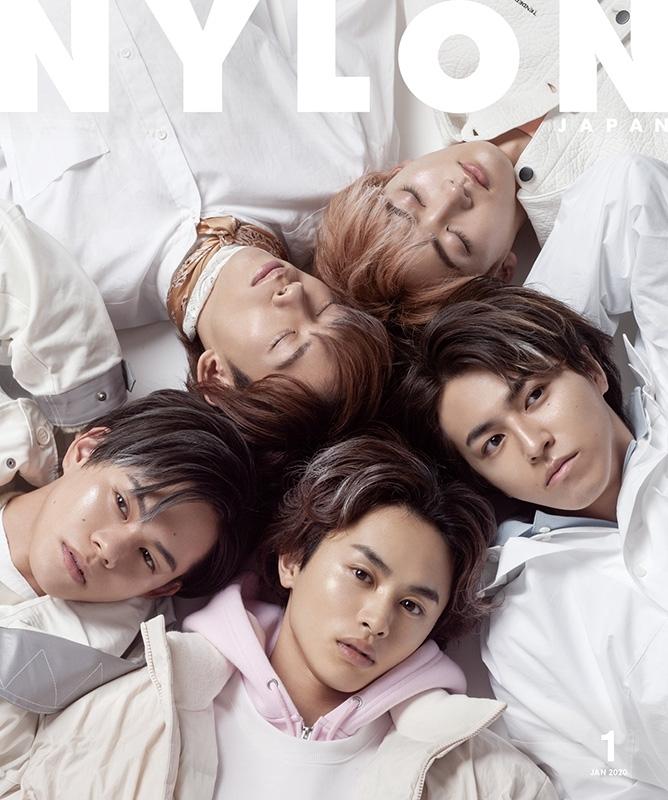 NYLON JAPAN (ナイロンジャパン)2020年 1月号 【表紙/guys表紙:超特急】