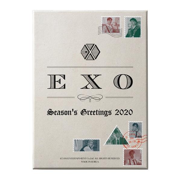 EXO 2020 SEASON'S GREETINGS[CALENDAR+DVD+GOODS]