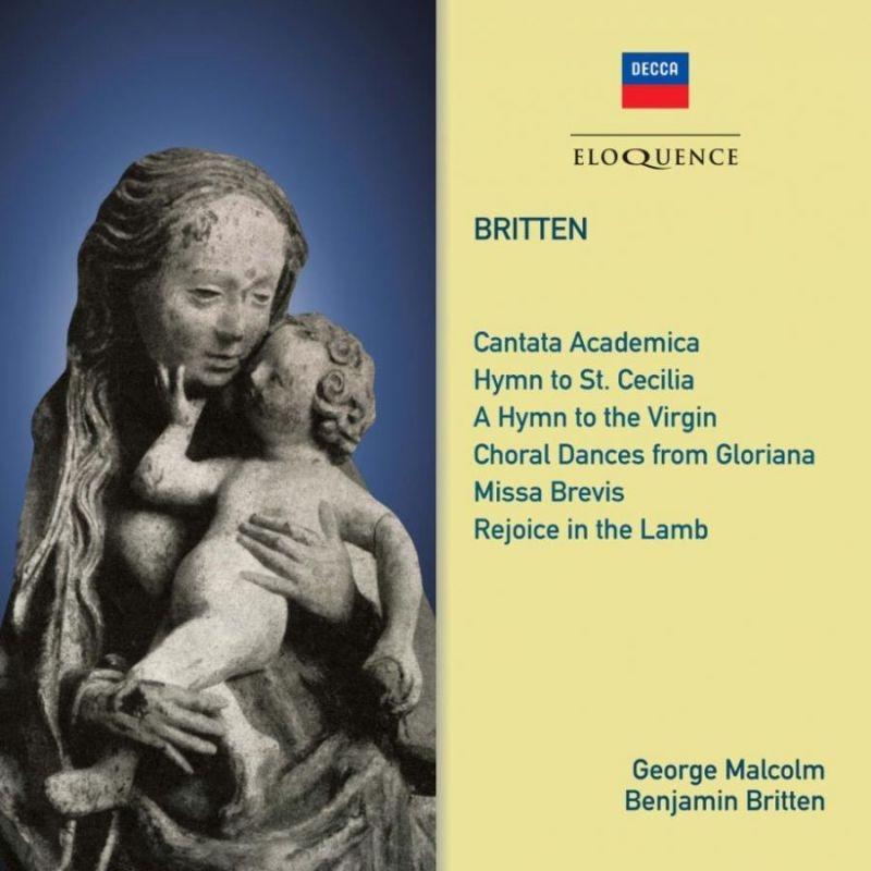 合唱作品集 ジョージ・マルコム&ロンドン交響合唱団、ウェストミンスター大聖堂合唱団、ベンジャミン・ブリテン&パーセル・シンガーズ、他